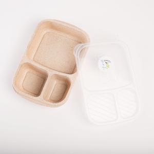 Lunch box of wheat flour