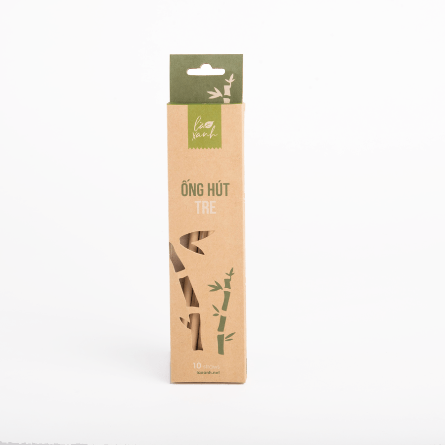 Box 10 Bamboo Straws
