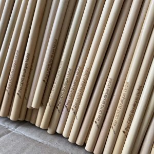 Order wholesale 6 mm bamboo straws (Cafe pipes)