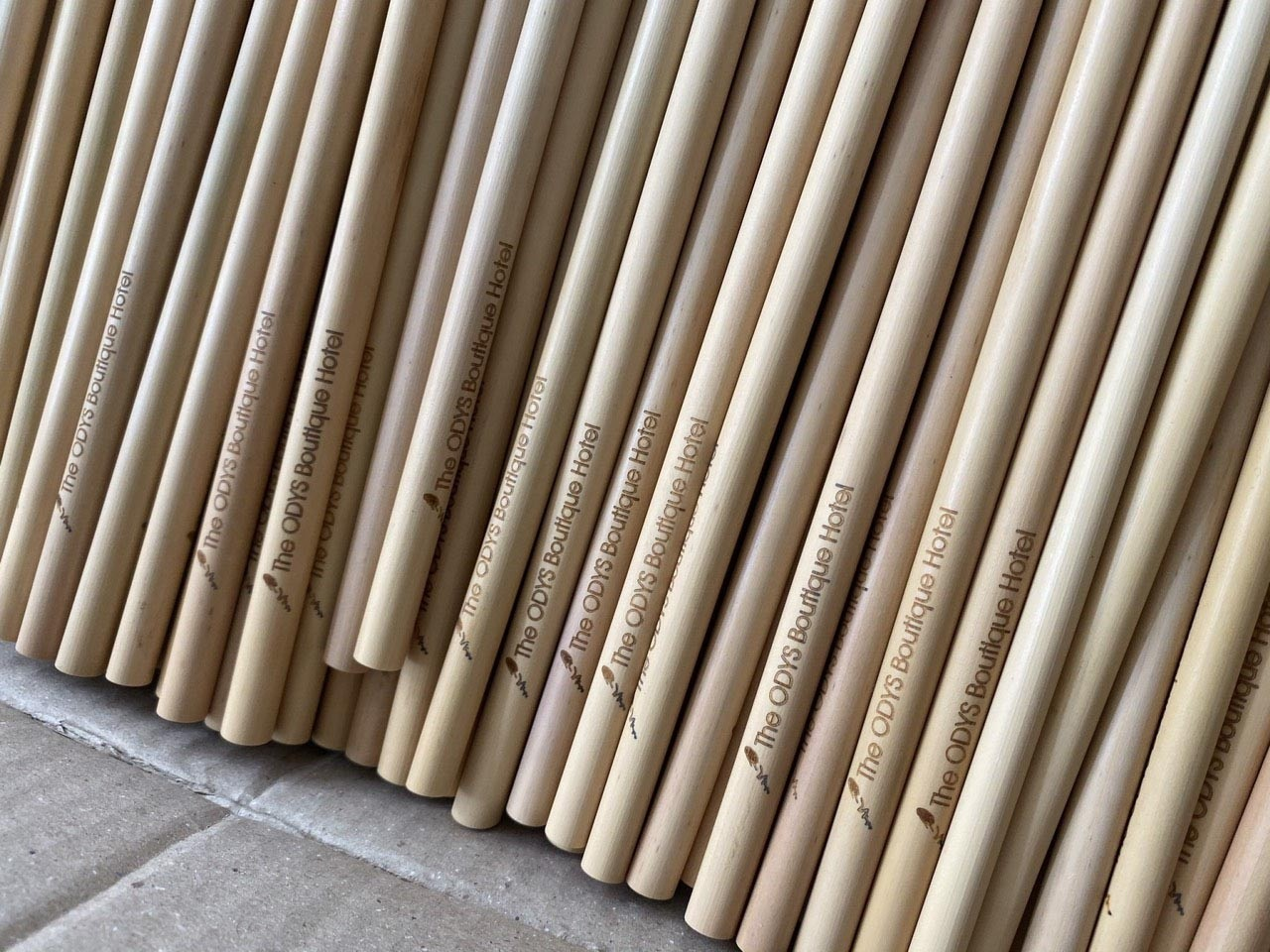 Buy wholesale bamboo straws and for export.