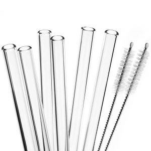 Order wholesale 6mm glass straws (Coffee tube)