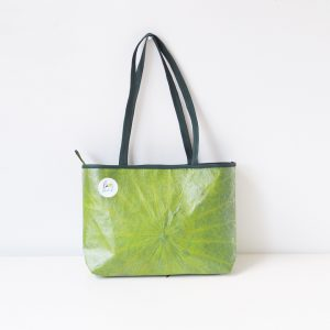 Handmade Handbag From Lotus Leaf – Lotus Leaf Bag