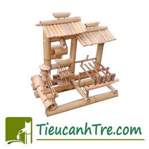 Thác Nước Phong Thủy Bằng Tre – Tuyệt Phẩm Handmade