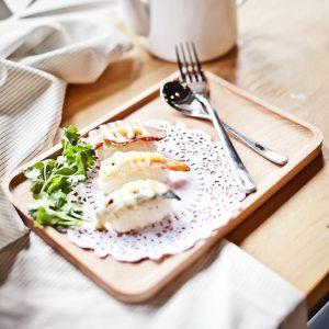 khay trà đựng đồ ăn, đĩa gỗ đẹp, khay gỗ chữ nhật, , khay gỗ trang trí , khay gỗ decor 54