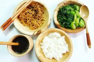 Chiếc Đĩa Mo Cau & Bữa Cơm Chay Nhẹ Nhàng