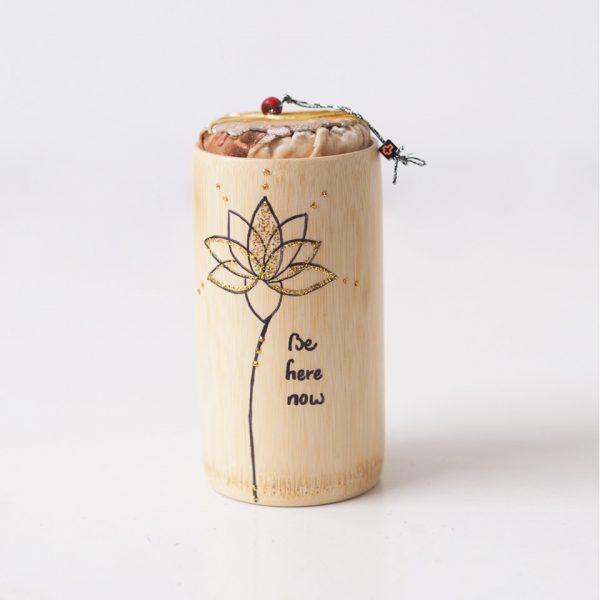 trà hoa đậu biếc hoa hồng