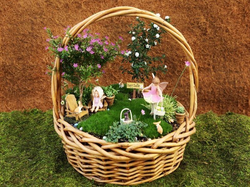 16 It Is Almost Easter Miniature Garden Ideas Homebnc