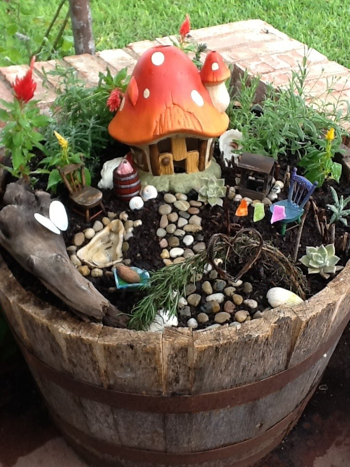 18 The Magic Mushroom Garden Fairy Garden Ideas Homebnc